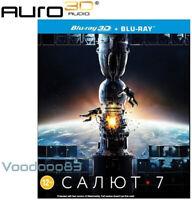 *NEW* Salyut-7 (Blu-ray 3D/2D, 2017) Russian movie, Auro 3D sound