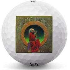 3 Dozen (Grateful Dead Blues for Allah Logo) Titleist Velocity Mint Golf Balls