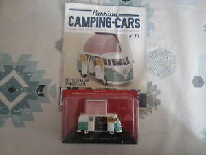Voiture miniature Passion Camping Car Volkswagen T1 Westfalia 1951 Combi au 1/43
