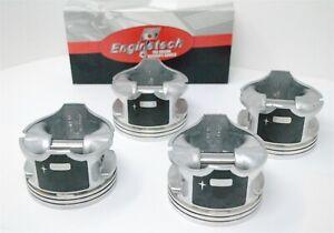 Fits 99 00 01 02 03 04 05 Subaru SUV 2.5L H4 16V EJ25X- (4) Pistons and Ring Set