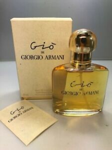 Gio Giorgio Armani edp 50 ml. Rare, vintage. Sealed