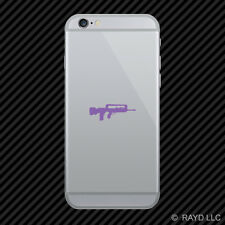 (2x) FAMAS Cell Phone Sticker Mobile rifle many colors