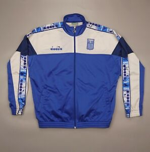 Vintage Rare GREEK 1996 1997 1998 DIADORA Jacket World Cup Vintage Soccer Greece