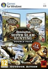 Remington Super Slam Hunting Double Pack (PC CD) BRAND NEW SEALED