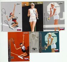 6 CARD LOT 2003 NETPRO DANIELA HANTUCHOVA ELITE PHOTO PREMIER INTERNATIONAL