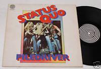 STATUS QUO:LP-ORIGINAL PROGRESSIVE 1973-VERTIGO SWIRL