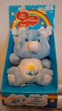 "Très Rare Comme neuf Neuf dans sa boîte Vintage Sea Friend Bear 7"" Plush Care Bear 1983 Tonka"