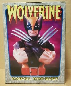 WOLVERINE BROWN MINI-BUST BY BOWEN DESIGNS