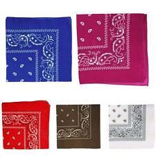 Fashion Kerchief Bandana Cotton Soft Neck Scarf Sport Head Wrap Square Women FT