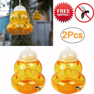 2 pack Wasp Trap Hornets Yellow Jackets Wasp Repellent Hornet Trap Bee Catcher