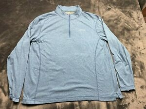 Men's Orvis Classic Collection Long Sleeve 1/4 Zip Pullover Jacket Size Large