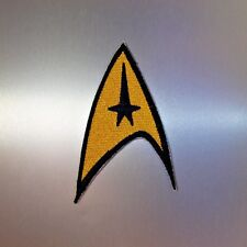 Star Trek Patch — Iron On Badge Embroidered Motif — Startrek Fan TV Series Retro