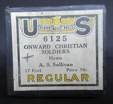 US Player 'Onward Christian Soldiers' by Arthur Sullivan Player Piano Roll