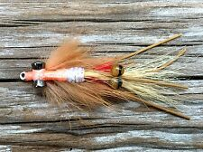 Fly Fishing Flies (Bonefish Redfish Trout Snook) Spawning Shrimp Pearl Fly (6)