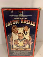 David Niven, Peter Sellers - Classic - CASINO ROYALE  VHS 1996 New