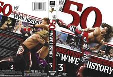 DVD: 3-DISC 50 GREATEST FINISHING MOVES IN WWE HISTORY