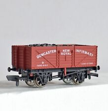 Dapol Doncaster New Royal Infirmary 7 Plank Wagon LTD Edition No 190 Boxed New