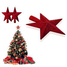 3DXmas Glitter Weihnachtsbaum Christbaumspitze Baumspitze Weihnachten Stern Deko