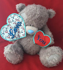 "ME TO YOU BEAR TATTY TEDDY X LARGE 24"" LOVE YOU TWO HEARTS BEAR GIFT"