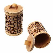 "New Russian Birch Bark Tues ""Nature frame"" (BOX) HONEY&SPICES  HANDMADE D10CM #4"