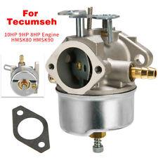 1 Set Snowblower Carburetor Carb For Tecumseh 10HP 9HP 8HP Engine HMSK80 HMSK90