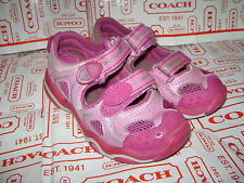 STRIDE RITE LIDDIE TODDLER GIRLS SHOES SANDALS size 8.5 M PINK LEATHER