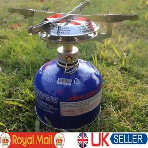 Camping Gas Stove Portable Cooking Cookware Set for Outdoor Camp Gas Burner-UK