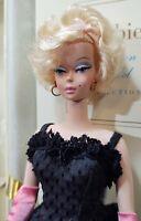 Barbie Fashion Model Doll SILKSTONE #4  2001 #55498 BLACK ENCHANTMENT Outfit COA