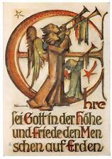 """vintage unused greeting cards  ARS SACRA B.I.Hummel """"merry christmas """"3769"""""""