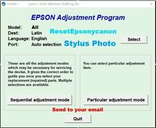 Reset Epson stylus photo SP1390-1400,1410, SP1430,1500W✅Updated version🔥emailed