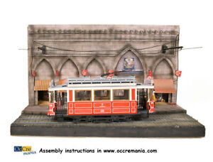 Occre Diorama Lisbon For Trams 1:24 Scale Model Kit - DIORAMA ISTANBUL