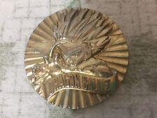 DRAGON BALL Z Gold Colored Coin Medallion