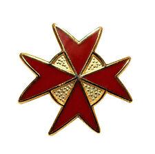 Round Knights of Malta Lapel Pin LP27