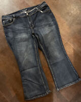 Women's MAURICES Curvy Boot Cut Jeans Size 26 X-Short