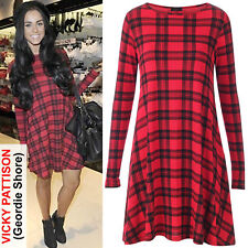 Unbranded Plus Size Casual Check Tops & Shirts for Women