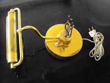 ancienne lampe de piano électrique en laiton