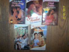 Lot 5 Silhouette Intimate Moments Soft Books By Some of the Best Romance Authors