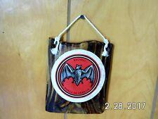 Handmade Wooden Bacardi Bat Emblem Marca De Fabrica Bar Sign Original 2017