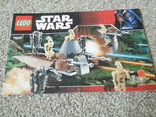 Lego Star Wars: 7654 Droids Battle pack Instructions only NOTE - no Lego bricks