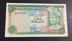 5 Ringgit Malaysia 3rd Series (1976-1981) GEF
