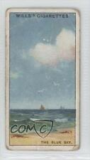 1922 Wills Tobacco Base #9 Do You Know What Causes the Blue Sky? Card 0a1