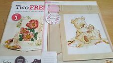 CROSS STITCH CHART LICKLE TED STITCHER SEWING BEAR CHART ONLY