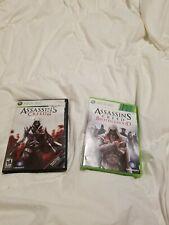 Assassin's Creed II, Assassins Creed Brotherhood (Microsoft Xbox 360, 2009)