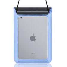 "Blue Tablet Waterproof Pouch Bag For iPad Mini 4 7.9"" Samsung Galaxy Tab S2 8.0"
