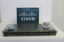 CISCO WS-C2960-48TC-L Cisco Catalyst 2960 Switch 1 year warranty CCNA CCNP CCIE