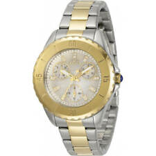 Invicta Women's Watch Angel White Mother of Pearl Dial Two Tone Bracelet 30975
