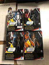Star Wars Galaxy of Adventures KYLO REN, DARTH VADER, CHEWBACCA, JET TROOPER NEW