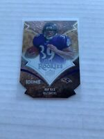 2008 Upper Deck Icons Ray Rice #182 Rookie Die Cut Baltimore Ravens /75