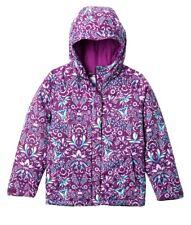 Columbia Horizon Ride Winter Jacket Toddler Girls Size 3T Purple Floral Hoodie