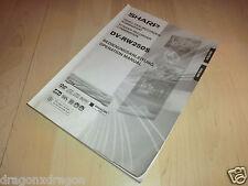 Anleitung / Manual für Sharp DV-RW250S, Deutsch / Englisch